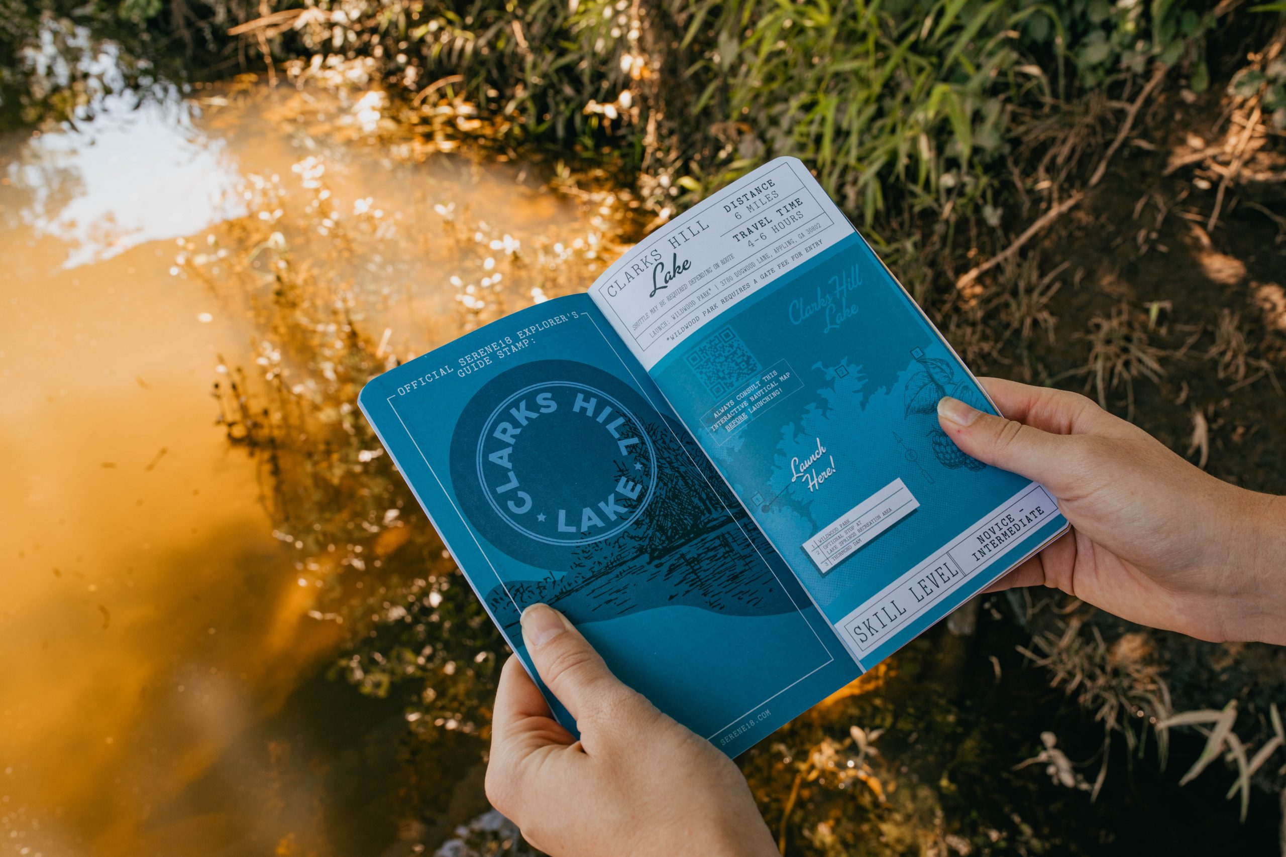 Serene 18 - Paddle Trail Booklet (Clarks Hill)