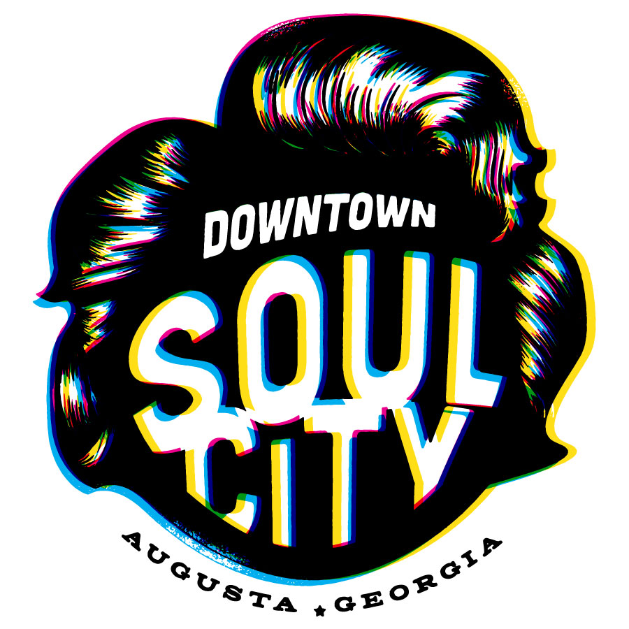 Downtown Soul City - James Brown Logo