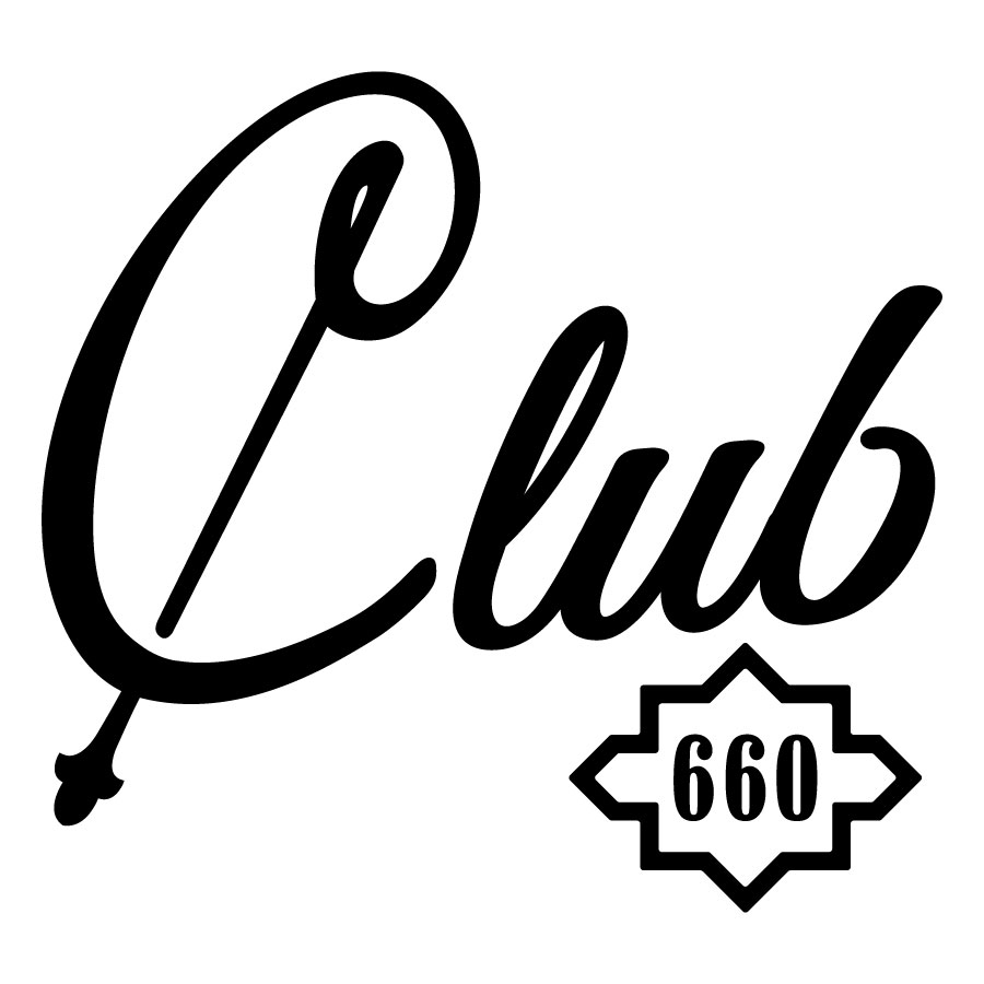 Club 660 Text Logo