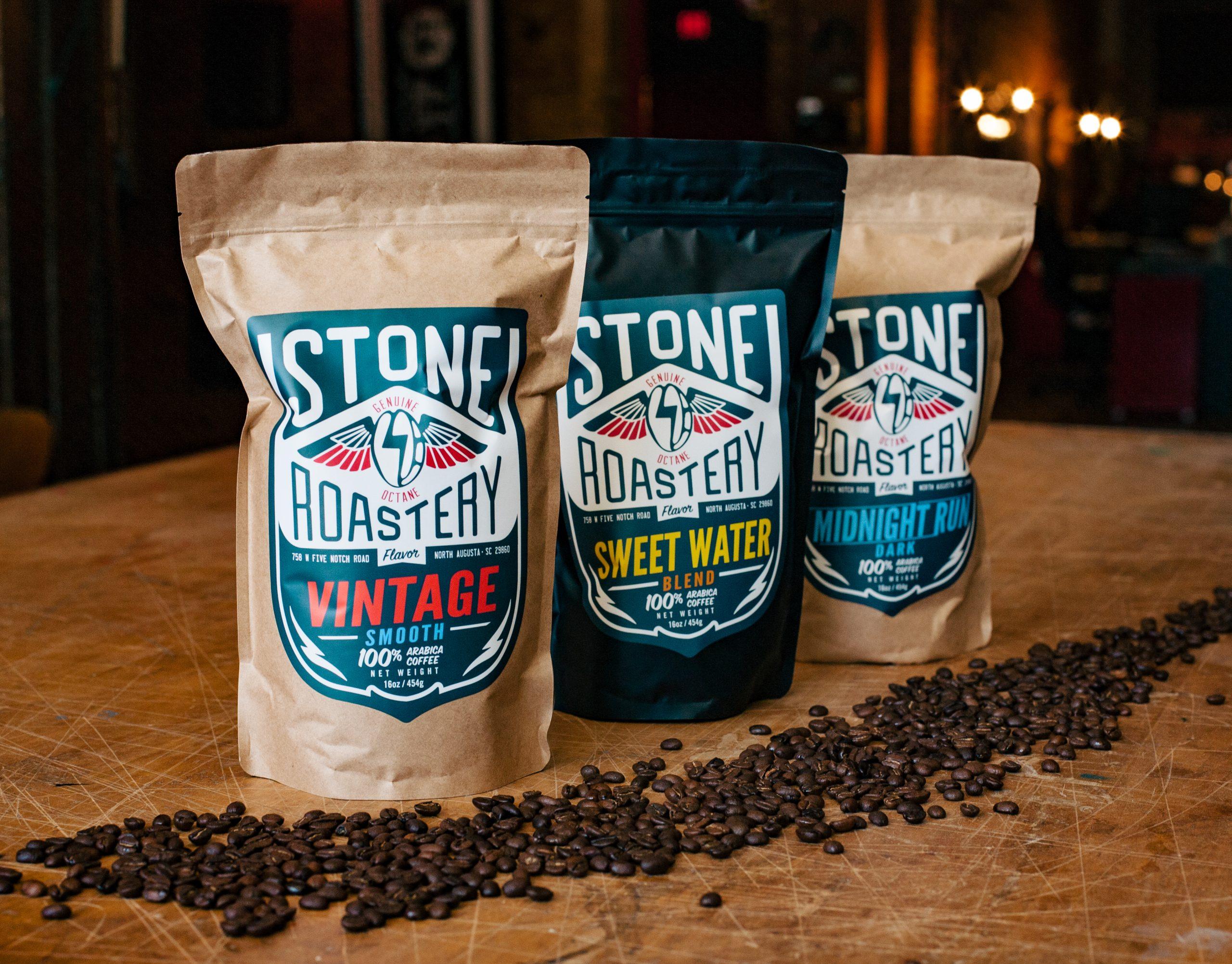 Stone Roastery Bags (Vintage, Sweet Water, Midnight Run)