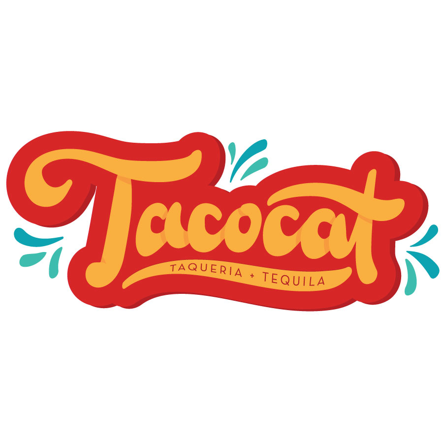 Taco Cat Text Logo