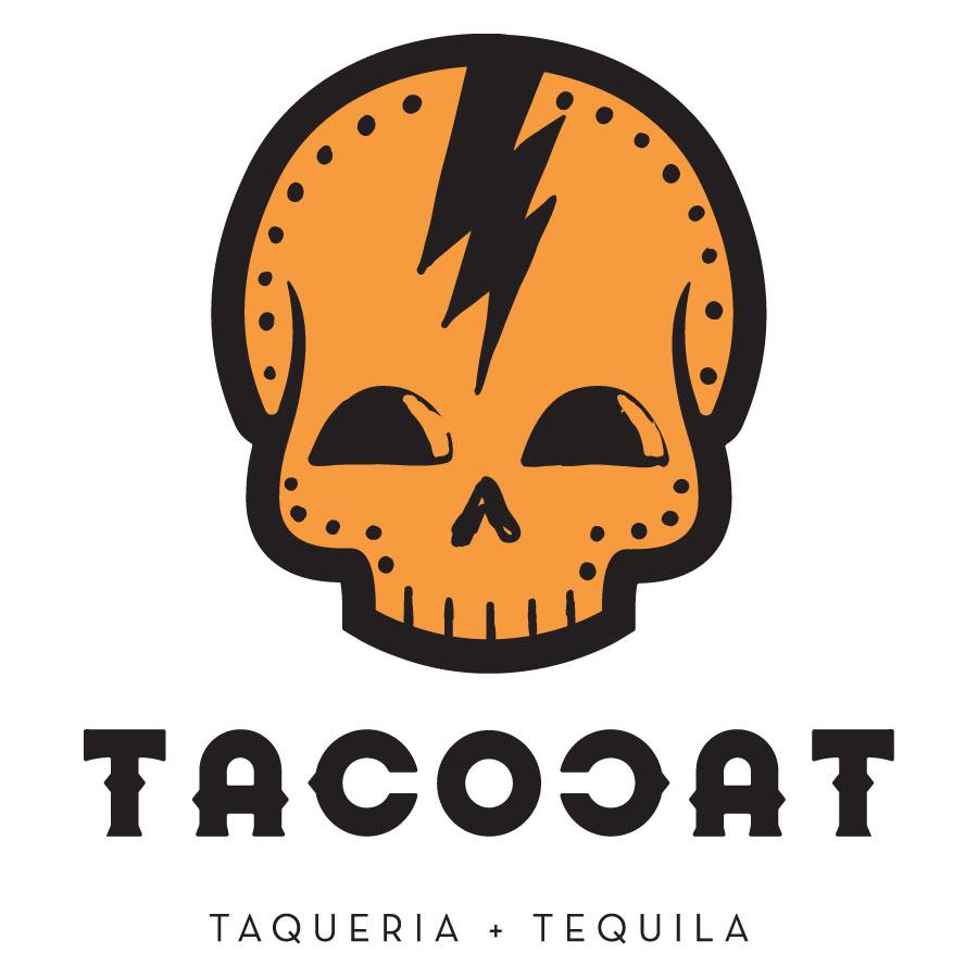Taco Cat Skull Logo