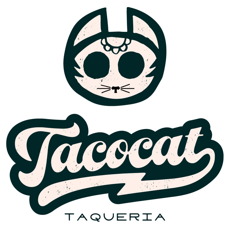 Taco Cat Logo Mock