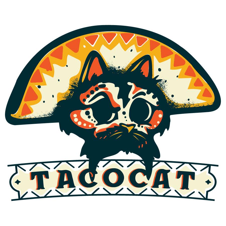 Taco Cat Logo