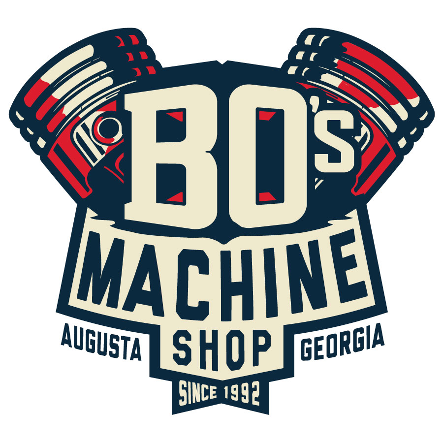 Bo's Machine Shop Logo