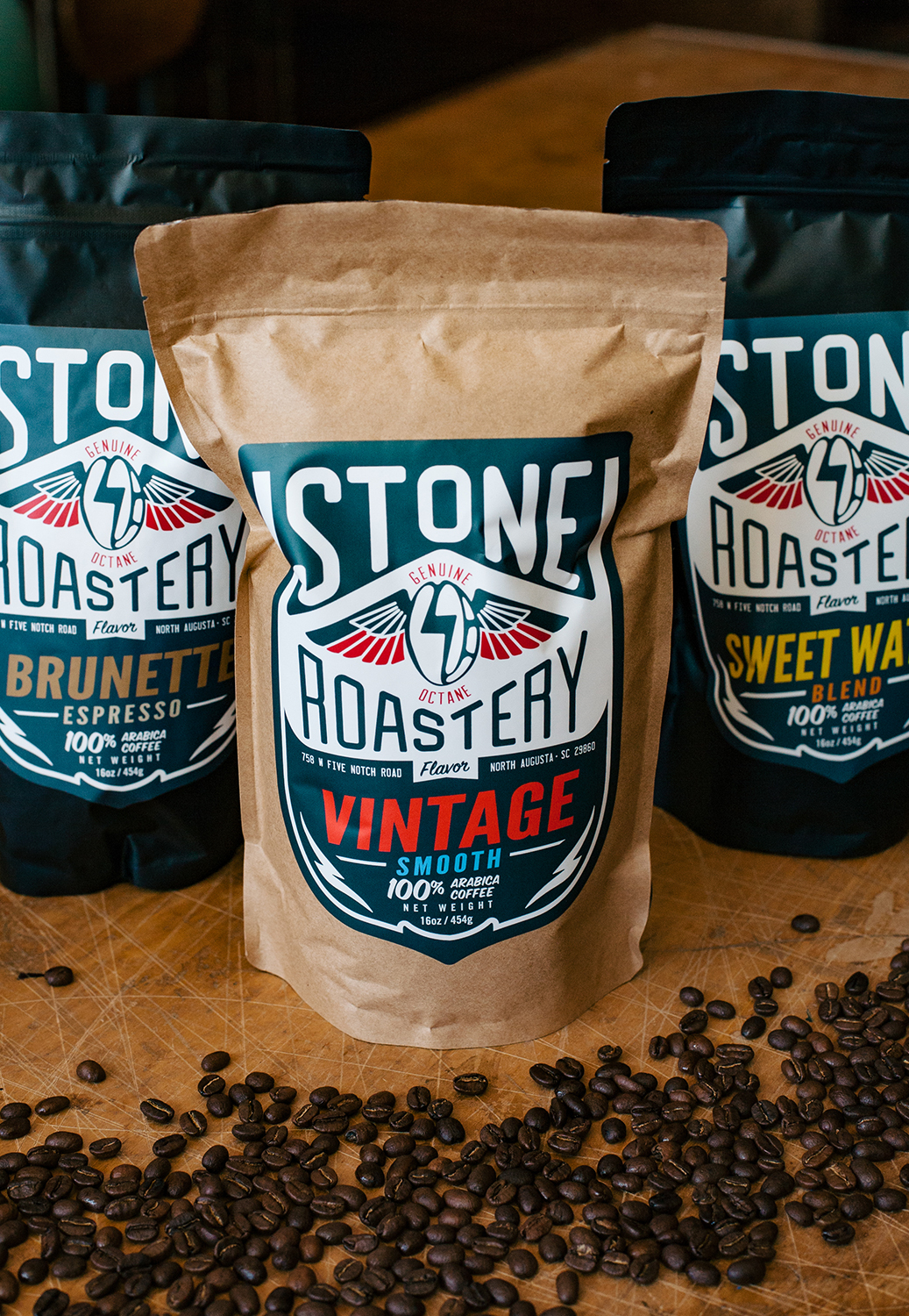 Stone Roadery Coffee Bags