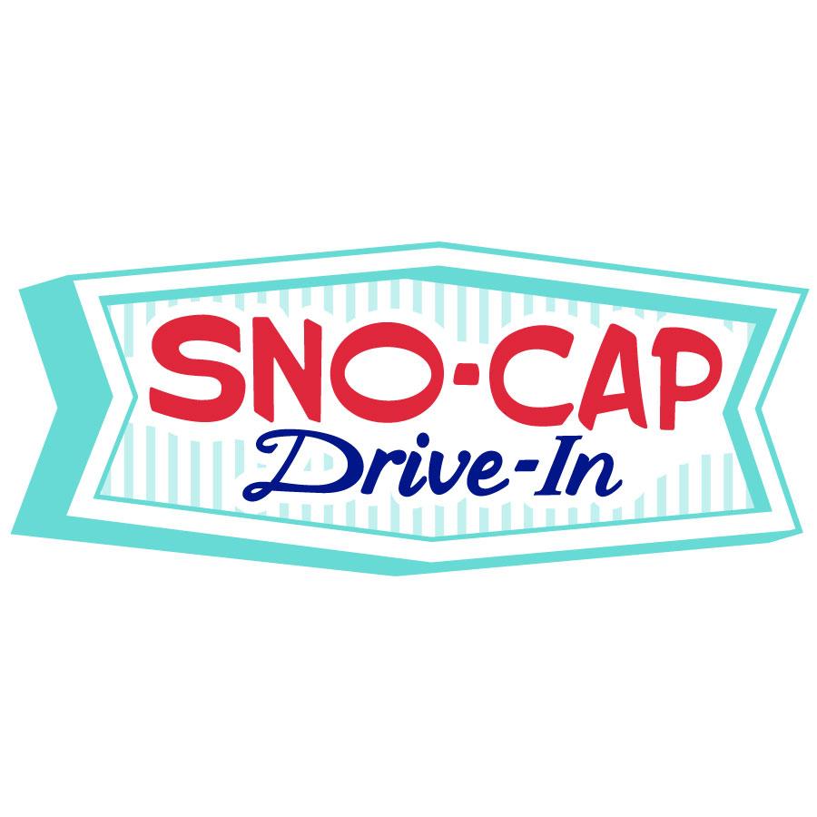 Sno-Cap Drive-In Logo