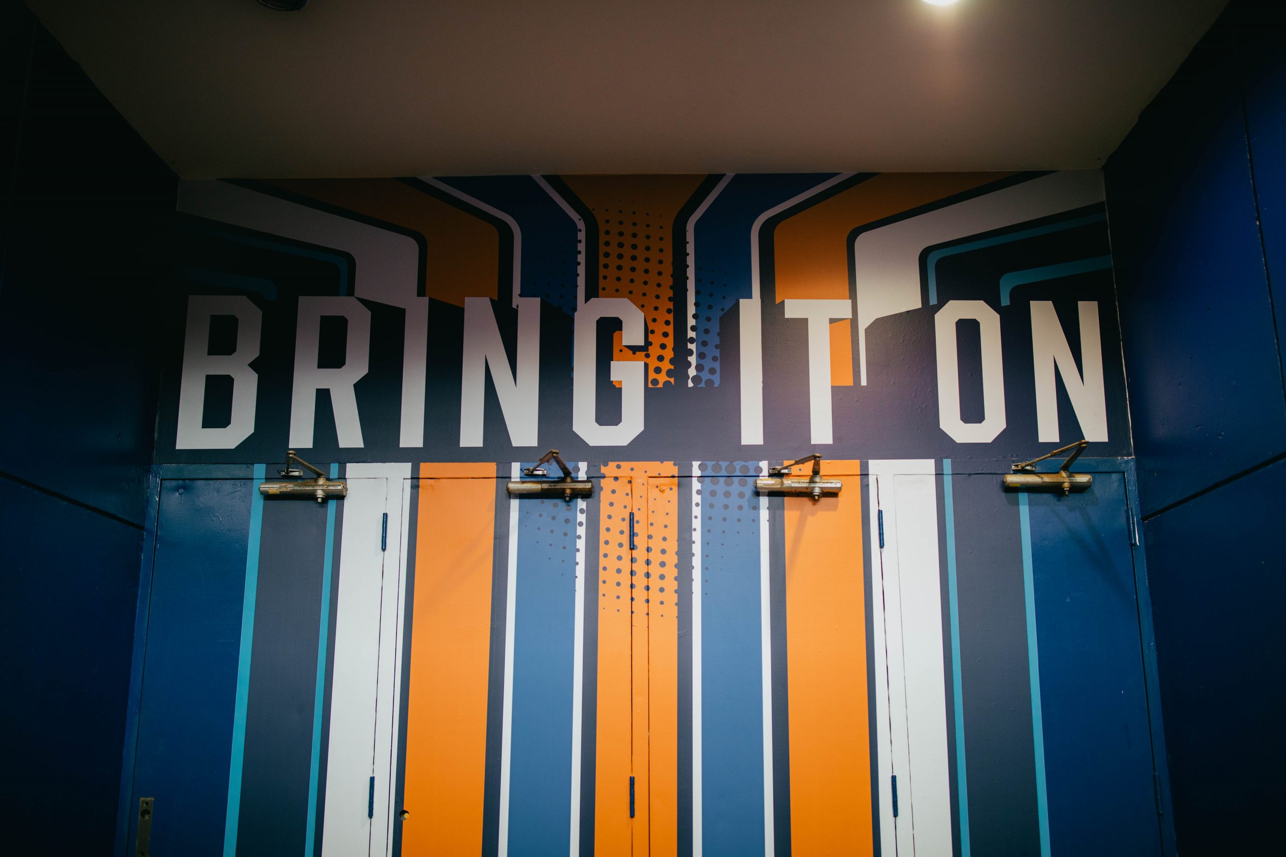 Augusta Entertainment Wall Design - Bring It On