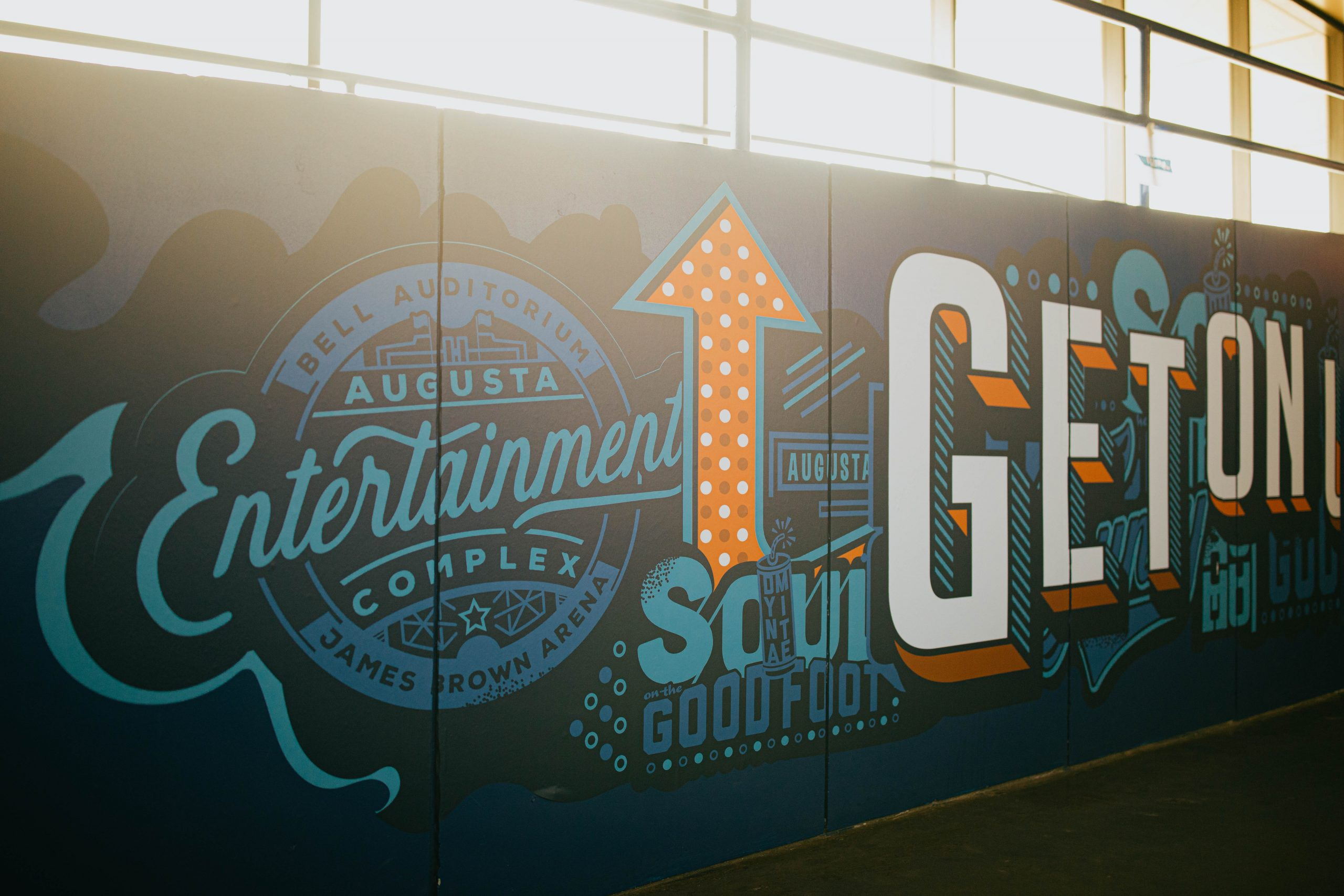 Augusta Entertainment Wall Design