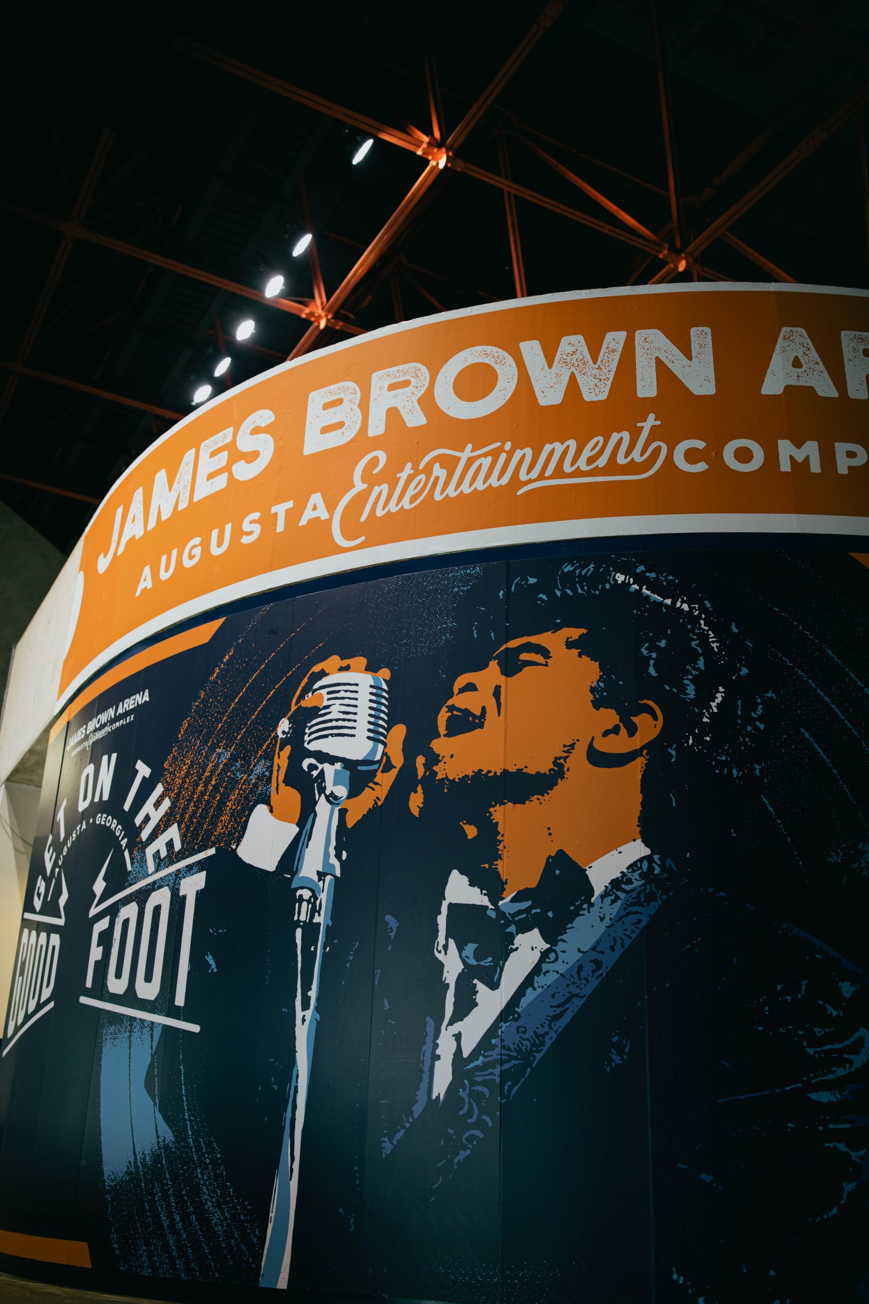 James Brown Arena Wall Design