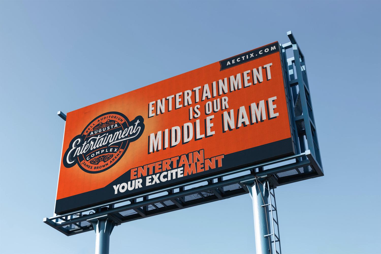 Augusta Entertainment Billboard