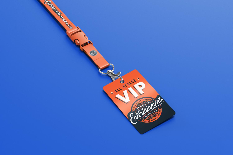 Augusta Entertainment VIP Tag