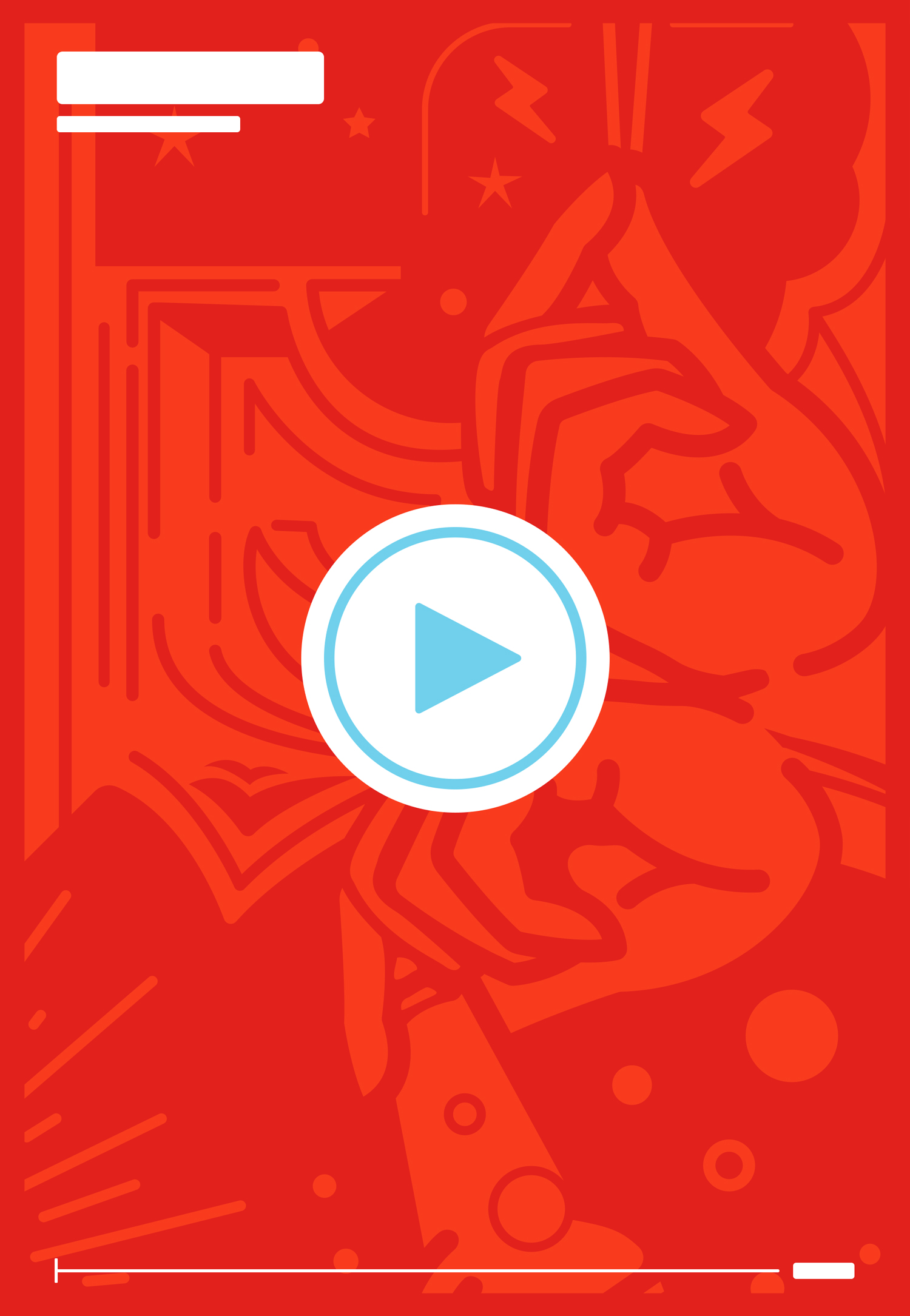 Content Creation Vector - Video Player