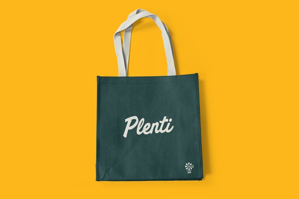 Plenti Canvas Bag Design