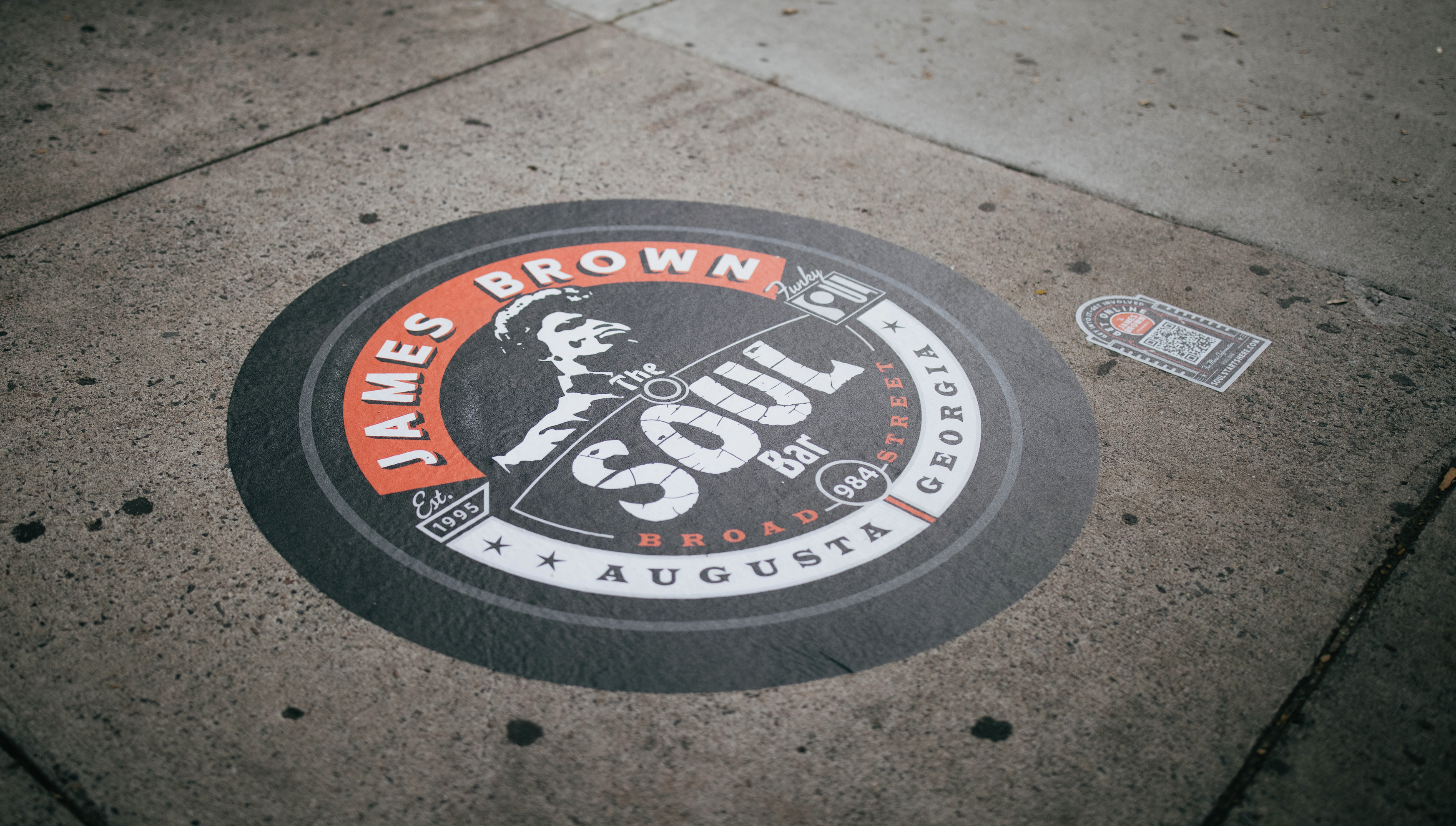James Brown Arena Placemat - Black