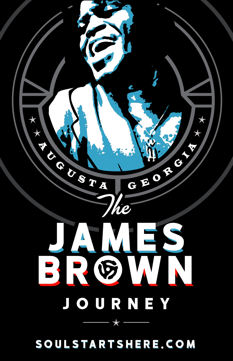 James Brown Arena Journey Poster